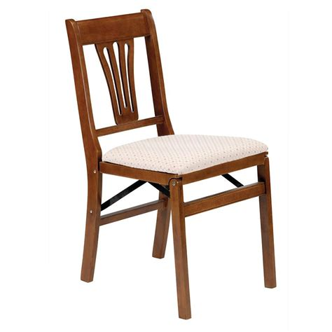 fruitwood folding chairs urn back folding chair fruitwood meco corp 0190 6h842