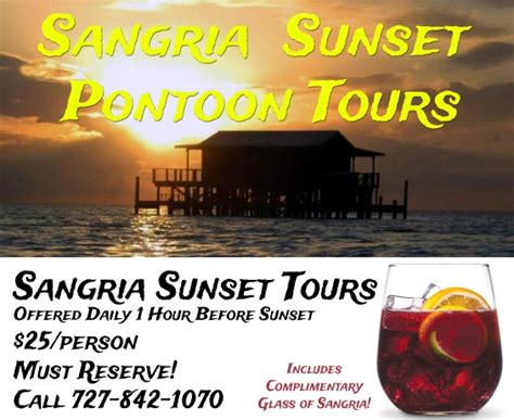 sunset grill boat tours sangria sunset pontoon tours gill dawg