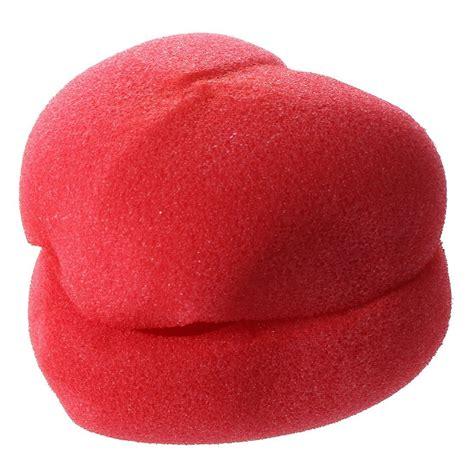 Jovana Sponge Hair Styler Curler Roller by Uxcell 174 6 Pcs Pink Sponge Hair Styler