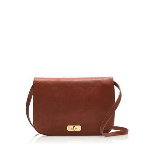 j crew small crossbody bag in brown henna lyst