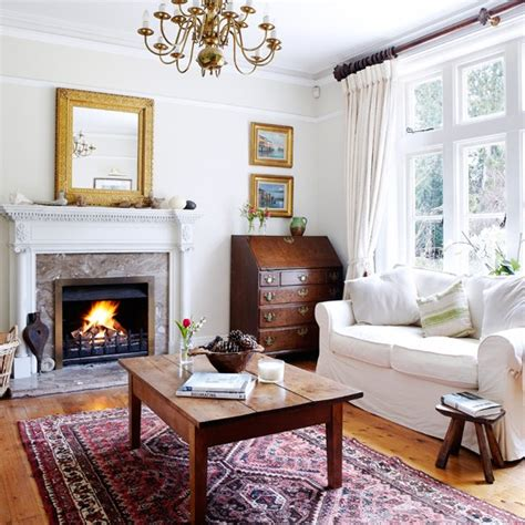 Livingroom Or Living Room by Cosy White Living Room Living Room Decorating Housetohome Co Uk
