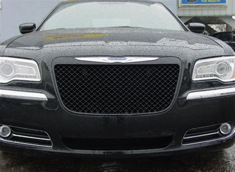 chrysler grill 2011 2014 chrysler 300 black bentley mesh grille
