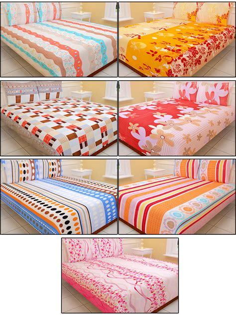 best fabric for bed sheets buy royal home pack of 7 designer bedsheets 7bs1 online