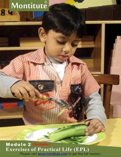 epl in montessori montessori practical life exercises 3 6 kindergarten