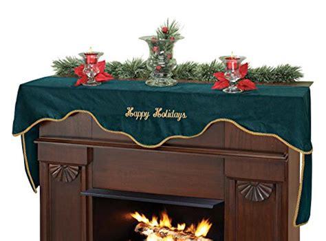 christmas poinsettia fireplace mantel scarf 9 ideas for decorating your fireplace mantel for christmas