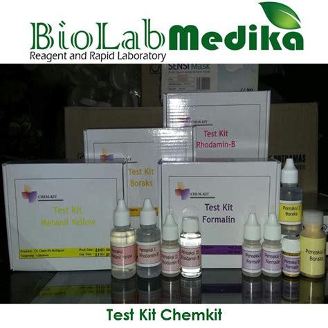Alat Tes Kit Makanan Formalin cara menguji formalin pada makanan biolab medika