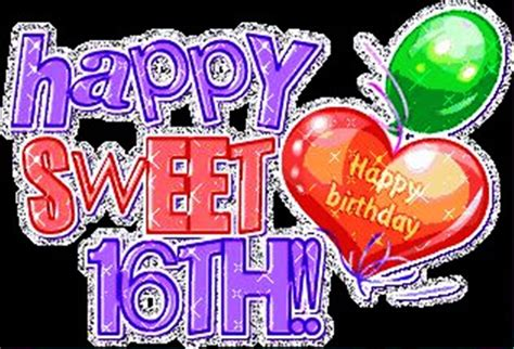 Happy Birthday Wishes Sweet 16 Birthday Wishes For Sixteen Year Old Wishes Greetings