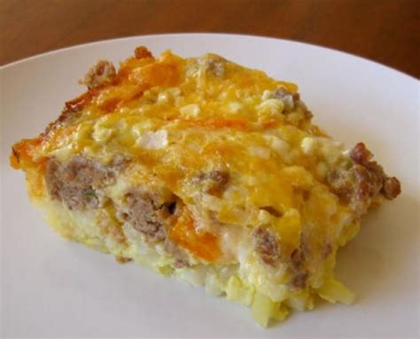 Egg Casserole With Cottage Cheese by Egg And Sausage Breakfast Casserole Recipe Casserole