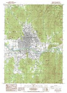 map grants pass oregon grants pass topographic map or usgs topo 42123d3