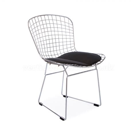 bertoia side chair pads bertoia wire side chair the furniture company ltd