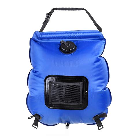 Portable Water Dhaulagiri 20 Liter new outdoor portable solar heated shower 20l folding water bag travel cing bathing bag with