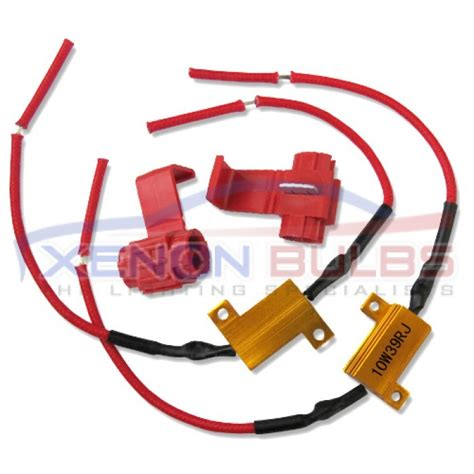 how to install led resistor kit 10w led canbus free load resistor kit