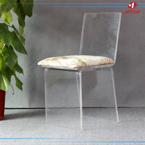 Clear Vanity Chair by Jayi Acrylic Furniture Lucite Vanity Chair Clear Perspex