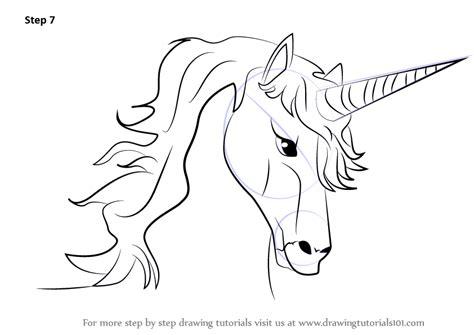 unicorn step by step how to draw a unicorn easy learn how to draw unicorn