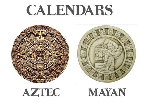 S Calendar Vs Calendar Aztec Vs Mayan Calendar Wheels Meso American Mayan