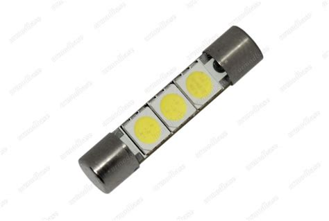 fuse bulb lights 2x 31mm led white fuse type bulb hid sun visor vanity