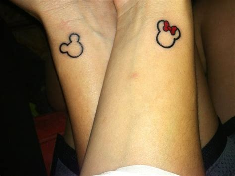 minnie mouse tattoos 28 outline mickey mouse tattoos