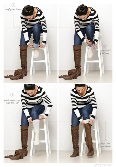 Cutout Hem Boot Cut can i tuck flare or bootcut into boots stitch fix