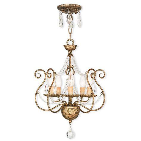 Bronze Mini Chandelier Livex Lighting 5 Light European Bronze Mini Chandelier 51915 36 The Home Depot