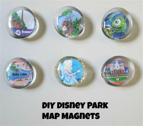 Handmade Fridge Magnets Ideas - diy disney themed magnets
