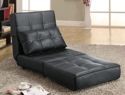 lounge chair couch 300173 lounge chair sofa bed by coaster