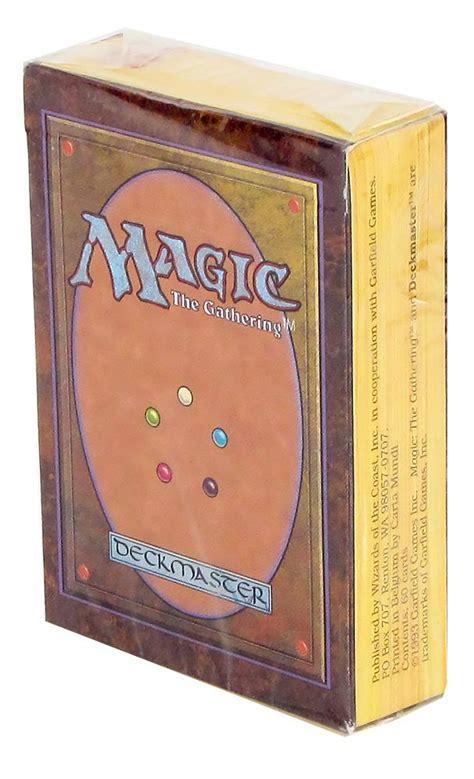 magic starter decks magic the gathering alpha starter deck incredibly