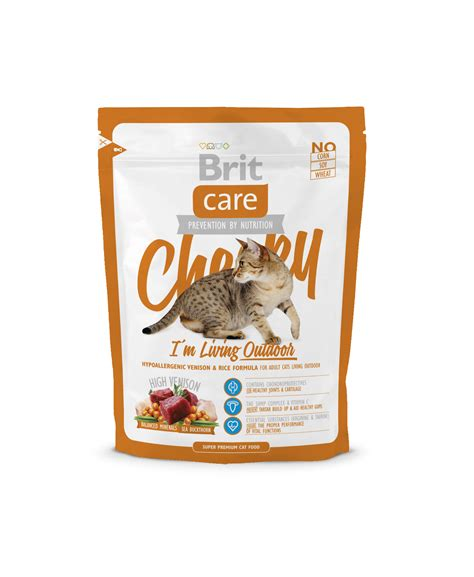 Brit Care Cheeky I M Living Outdoor 400 Gr 1 brit care cat cheeky i m living outdoor 400 gram superpet