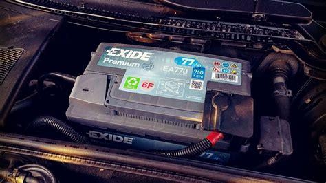 Audi A4 Avant Batterie Ausbauen by Audi A4 8e Modell B7 Batterie Austauschen Wechseln Youtube