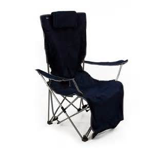 The mac sports reclining armchair in midnight blue