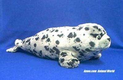 Boneka Harbor Seal Stuffed Animal Jumbo large harbor seal plush stuffed animal at animal world 174