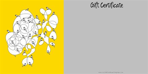 dental gift certificate template printable gift certificate templates