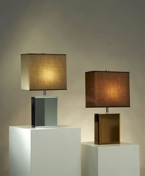 Contemporary Table Lamps as Fancy Decoration for Lightning Interior Amaza Design