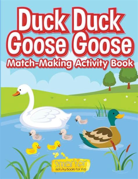s geese books duck duck goose goose match activity book by