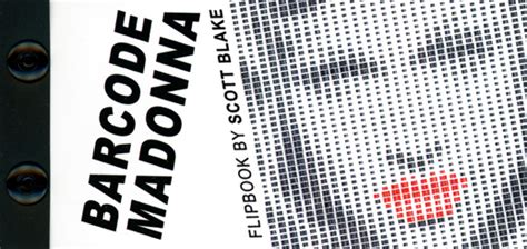 Madona Big Size barcode madonna flipbook by