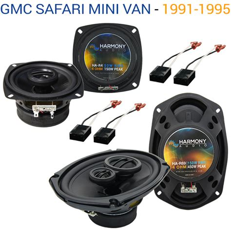 Speaker Gmc Mini gmc safari mini 1991 1995 oem speaker upgrade harmony speakers package new ebay