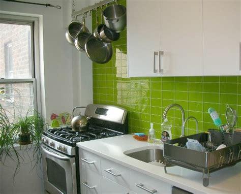 Wall Tile Ideas For Kitchen Go Green Desain Interior Dapur Kecil Untuk Rumah Asri