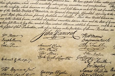 most up letter declaration of independence this is the most valuable signature on the declaration of