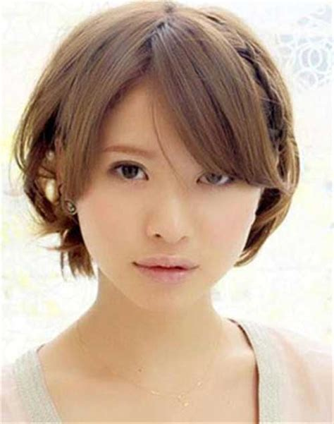 cute haircuts chubby faces 10 cute short hairstyles for round faces short