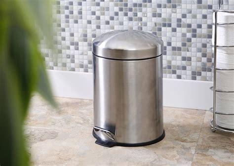 the best dog proof bathroom trash cans decor snob
