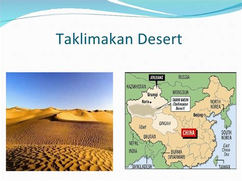Galerry taklimakan desert map Page 2