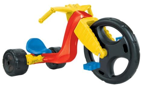 the original big wheel spin out racer 16 ride on trike w