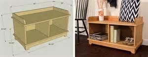 entryway storage bench plans free entryway storage bench kreg tool company