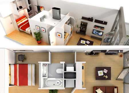 how to live in small spaces small space ideas the flat decoration
