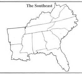 search results for blank map of the southeast region