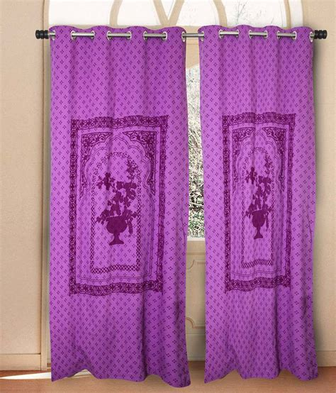 purple cotton curtains house this purple traditional cotton eyelet curtains set
