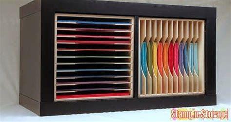ikea craft paper crafty storage expedit kallax inserts by st n storage