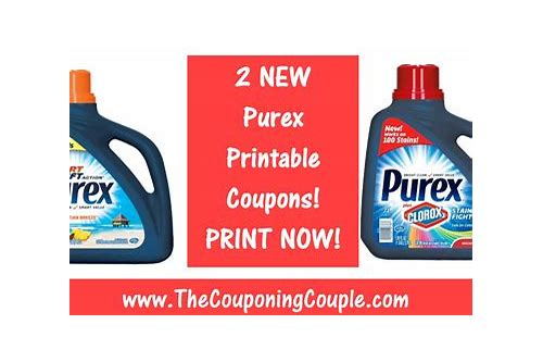 purex printable coupons december 2018