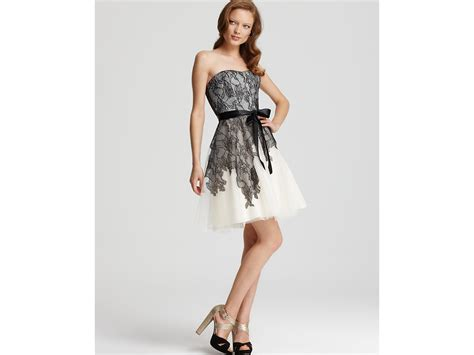 max cleo dress cynthia lace and tulle in beige eggshell