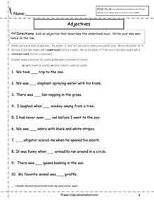 english grammar worksheets for grade 2 icse