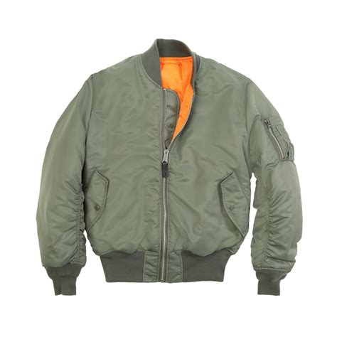 Fly Bomber Jacket alpha industries ma 1 flight jacket bomber ma1 mjm21000c1